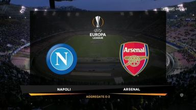 Full match: Napoli vs Arsenal