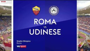 Full match: AS Roma vs Udinese