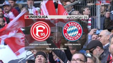 Full match: Fortuna Düsseldorf vs Bayern Munich