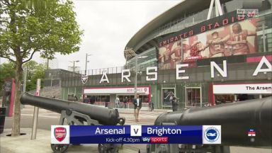 Full match: Arsenal vs Brighton & Hove Albion