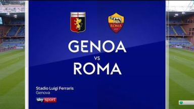 Full match: Genoa vs Roma