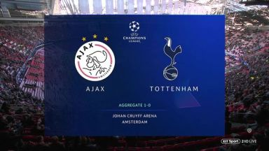 Full match: Ajax vs Tottenham Hotspur