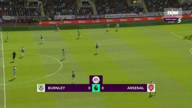 Full match: Burnley vs Arsenal