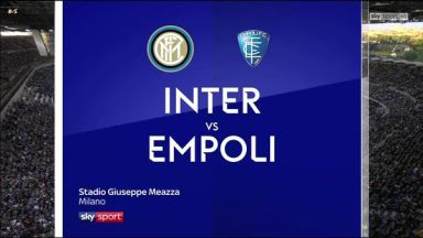 Full match: Inter Milan vs Empoli