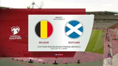 Full match: Belgium vs Scotland