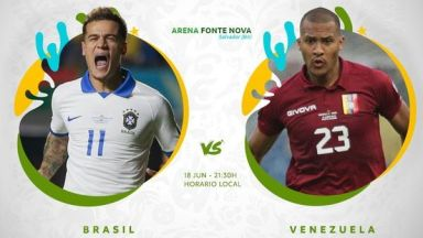 Full match: Brazil vs Venezuela
