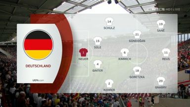 Full match: Germany vs Estonia