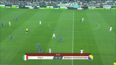 Full match: Italy vs Bosnia-Herzegovina