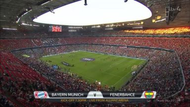 Full match: Bayern Munich vs Fenerbahce