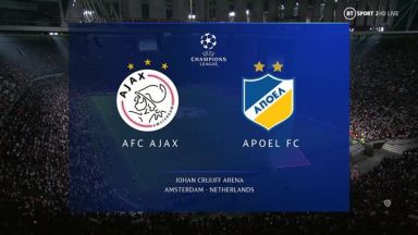 Full match: Ajax vs APOEL
