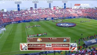 Full match: Atletico San Luis vs Atletico Madrid
