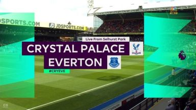 Full match: Crystal Palace vs Everton