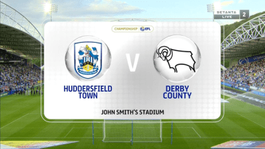 Full match: Huddersfield Town vs Derby County