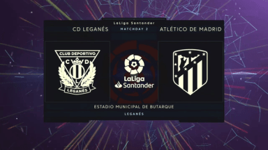 Full match: Leganes vs Atletico Madrid