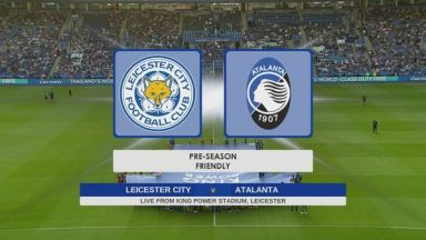 Full match: Leicester City vs Atalanta