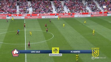 Full match: Lille vs Nantes