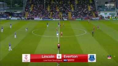 Full match: Lincoln City vs Everton