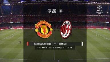 Full match: Manchester United vs AC Milan