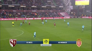 Full match: Metz vs Monaco