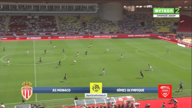 Full match: Monaco vs Nîmes