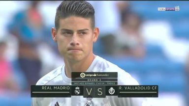 Full match: Real Madrid vs Real Valladolid