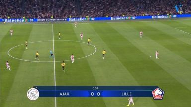 Full match: Ajax vs Lille