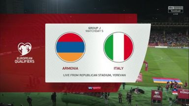 Full match: Armenia vs Italy