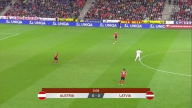 Full match: Austria vs Latvia