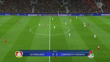 Full match: Bayer Leverkusen vs Lokomotiv Moscow