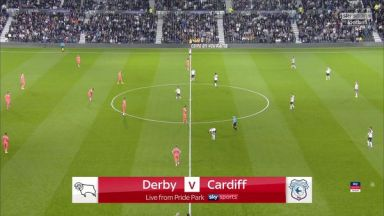 Full match: Derby County vs Cardiff City
