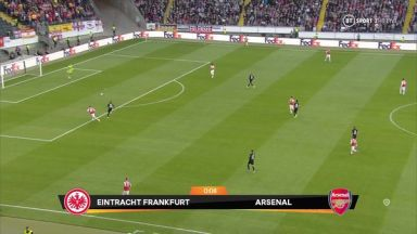 Full match: Eintracht Frankfurt vs Arsenal
