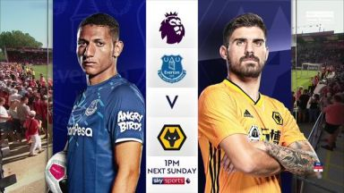 Full match: Everton vs Wolverhampton Wanderers