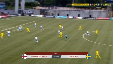 Full match: Faroe Islands vs Sweden