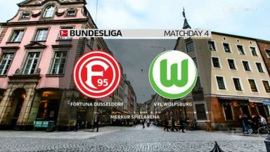 Full Match: Fortuna Düsseldorf vs Wolfsburg
