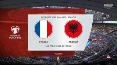 Full match: France vs Albania