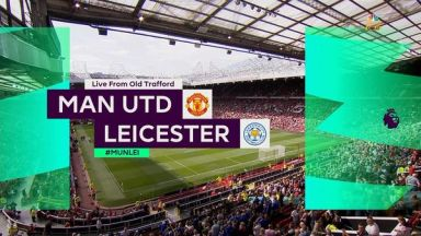 Full match: Manchester United vs Leicester City