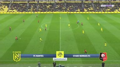 Full match: Nantes vs Rennes