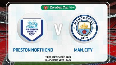 Full match: Preston North End vs Manchester City