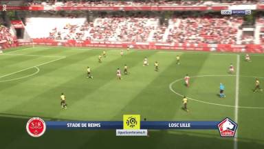 Full match: Reims vs Lille
