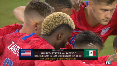 Full match: United States vs Mexico