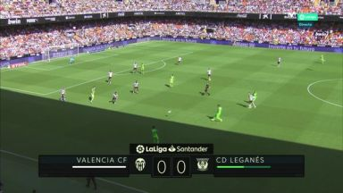 Full match: Valencia vs Leganes
