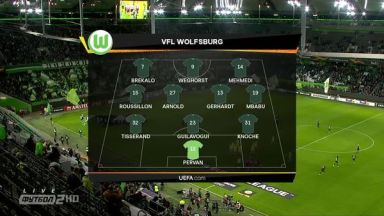 Full match: Wolfsburg vs Oleksandria