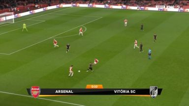 Full match: Arsenal vs Vitoria Guimaraes