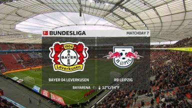 Full match: Bayer Leverkusen vs RB Leipzig
