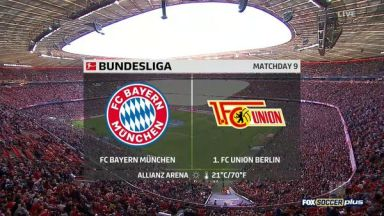 Full match: Bayern Munich vs Union Berlin