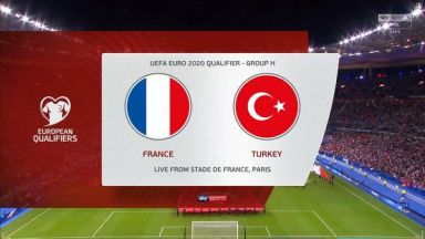 Full match: France vs Turkey