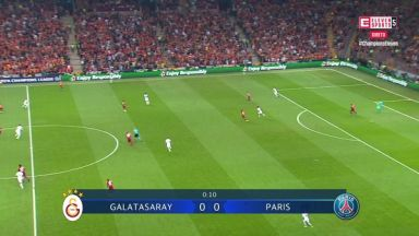 Full match: Galatasaray vs PSG