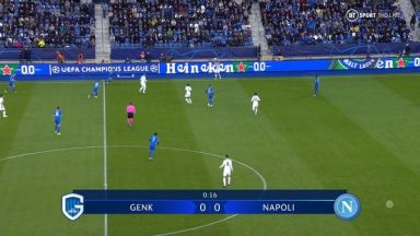 Full match: Genk vs Napoli