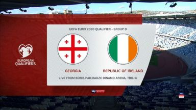 Full match: Georgia vs Republic of Ireland