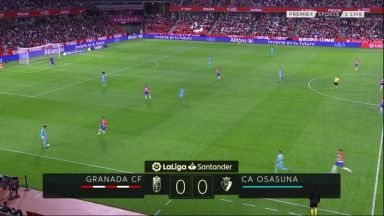 Full match: Granada vs Osasuna